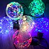 Разноцветные новогодние лампочки шары Е27 G95