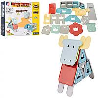 Конструктор магнитный LT2006 Магнитный 3D-конструктор Magnetic станет отличным подарком для ребенка с 3 лет