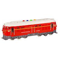 Поезд инерционный 7792B (Red) Игрушки для мальчиков