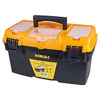 Ящик для инструмента с органайзером 432×250×238мм SIGMA (7403801), фото 1