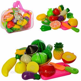 Игровые наборы для девочек, продукты на липучках