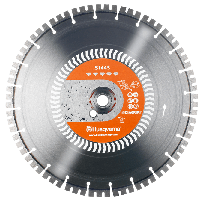 Диск алмазный Husqvarna S1445 350 20-25.4 ж/бетон