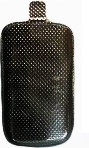 KeepUp кожаный чехол с лентой для HTC S510e Desire S Black
