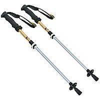 Палиці скандинавські телескопічні трекінгові для скандинавської ходьби ZELART 2 шт Жовті (TY-0466-4)