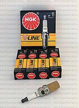 Свечи зажигания ВАЗ 2111, 2112NGK V-11 (16 клап. под 16 ключ)