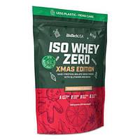 Сывороточный протеин изолят BioTech Iso Whey Zero (500 г) изо вей зеро Gingerbread