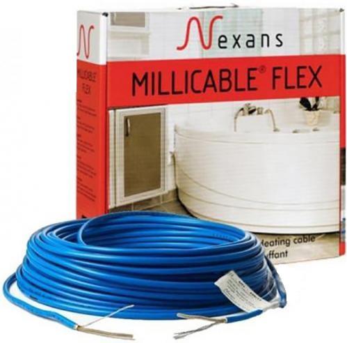 Нагревательный кабель Nexans 4.4 кв.м, 525 Вт под плитку