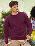 Мужской свитшот, батник, реглан мужской, свитер  Fruit of the loom, фото 3