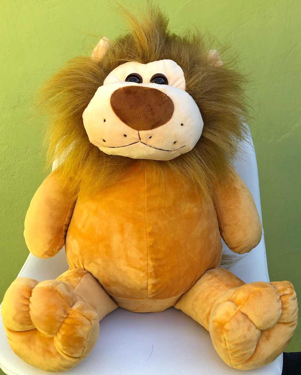 Лев мягкая игрушка львенок