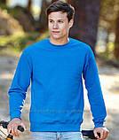 Мужской свитшот, батник, реглан мужской, свитер  Fruit of the loom, фото 4