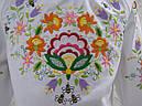Блуза для девочек с вышивкой Петриковская  роспись, фото 2