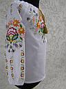 Блуза для девочек с вышивкой Петриковская  роспись, фото 3