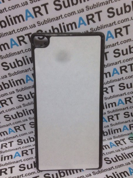 Чехол для 2D сублимации пластиковый на Huawei P8 черный