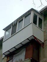 Обшивка балконов снаружи, фото 3