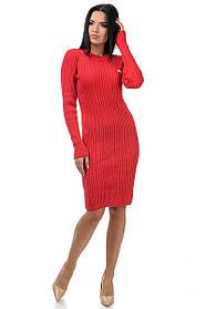 Платье вязаное женское оптом(46-50)Украина-64730