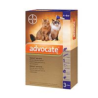 Адвокат д/котів 4-8 кг (3 піпетки)
