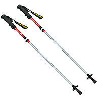 Палиці скандинавські телескопічні трекінгові для скандинавської ходьби ZELART 2 шт Червоні (TY-0466-5)