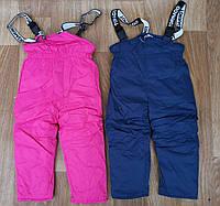 Напівкомбінезон утеплений для дівчаток, 4-8 років. Артикул: XY9716