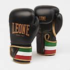 Боксерские перчатки Leone Italy Black 12 ун., фото 4