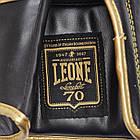 Боксерские перчатки Leone Italy Black 12 ун., фото 5