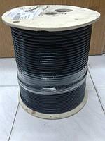 Коаксиальный кабель CommScope F6TSV  APO черный (Бухта 305м)