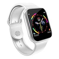 """Умные часы-телефон 1.3"""" с камерой и Bluetooth Smart Watch W4 (белые)"""