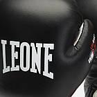 Боксерские перчатки кожаные Leone Tecnico 10 oz унций черный, фото 7