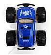 Машинка Джип 21 см Тарзан на радиоуправлении 9003, аккумулятор, резиновые колеса. Синий, фото 5