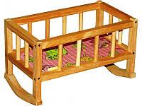 """Кроватка деревянная для куклы ВП-002 """"Винни Пух"""""""