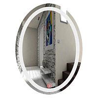 Зеркало овальное с LED подсветкой SmartWorld Fortuna 50x70x3 см 1010-d54-50x70x3, КОД: 1060750