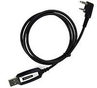 USB кабель программирования раций Baofeng Kenwood Черный, КОД: 1316528