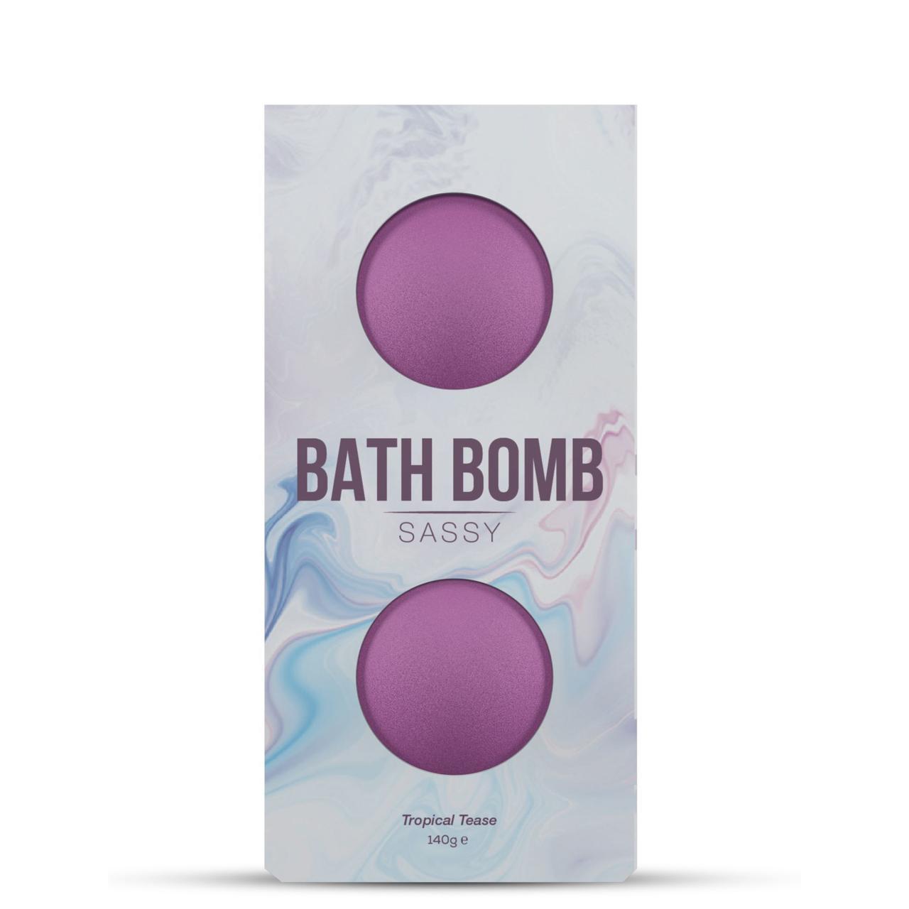 Распродажа! Набор бомбочек для ванны Dona Bath Bomb Sassy Tropical Tease (140 гр) (годен до 08.21)