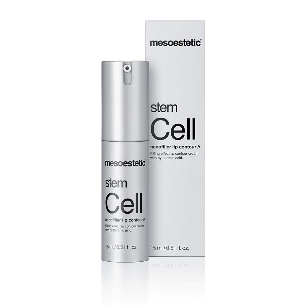 Stem Cell Nanofiller Lip Contour - Регенеруючий крем-філлер для губ 15 мл Mesoestetic