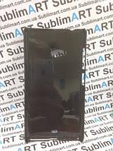 Чехол для 2D сублимации пластиковый на Nokia Lumia 560 черный, фото 3