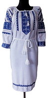 Недорогие вышитые платья