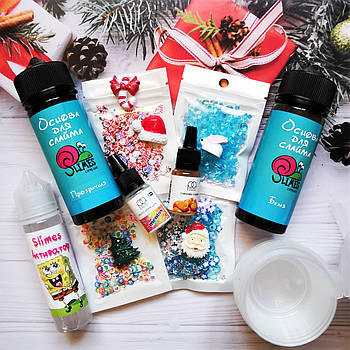 Winter Slime BOX (mini) / Зимний слайм бокс (мини)