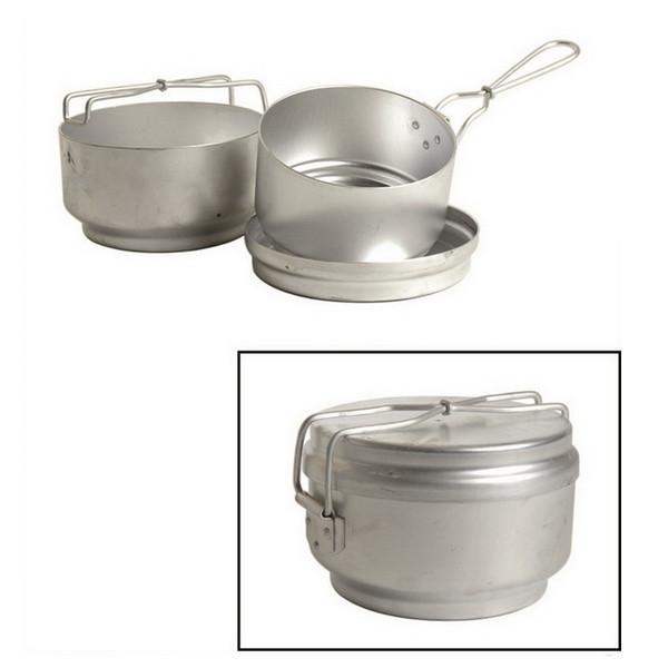 Чешский набор туристической посуды (3 элемента) алюминиев. Mil-Tec