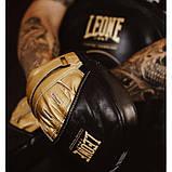 Боксерські лапи Leone Power Line Black, фото 4
