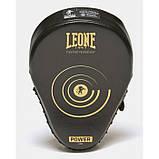 Боксерські лапи Leone Power Line Black, фото 5