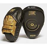 Боксерські лапи Leone Power Line Black, фото 7