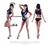 """Бодифит """"Сакура"""" для занятий  фитнесом,exotic pole dance, pole dance."""