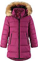 Зимнее пальто для девочки Reima Lunta, размер 122