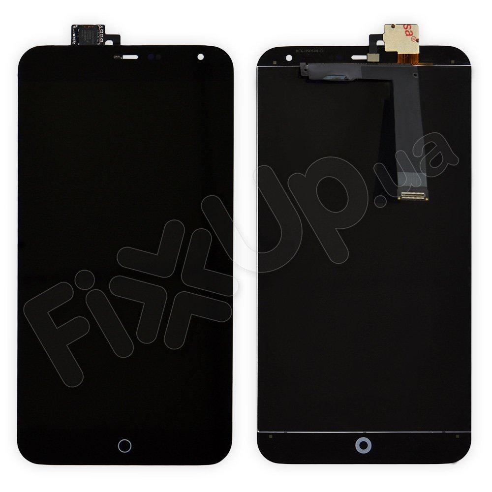 Дисплей Meizu MX4 с тачскрином в сборе, цвет черный, уценка