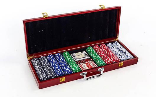 Покерний набір 500 фішок IG-6645, фото 2