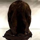 Платок-Капюшон Норковый Орех 055ШП, фото 2
