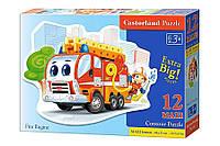 Пазл Castorland Макси Пожарная машина 12 эл В-120109 tsi25306, КОД: 287792