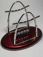 Антистресс маятник Шары Ньютона из 5 металлических шариков на пластмассовой подставке DN19413, КОД: 766648