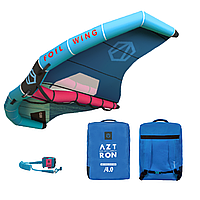 Винг Aztron 4 м - крыло для САП сёрфинга, виндсёрфинга, кайтинга, сноубординга, фойла