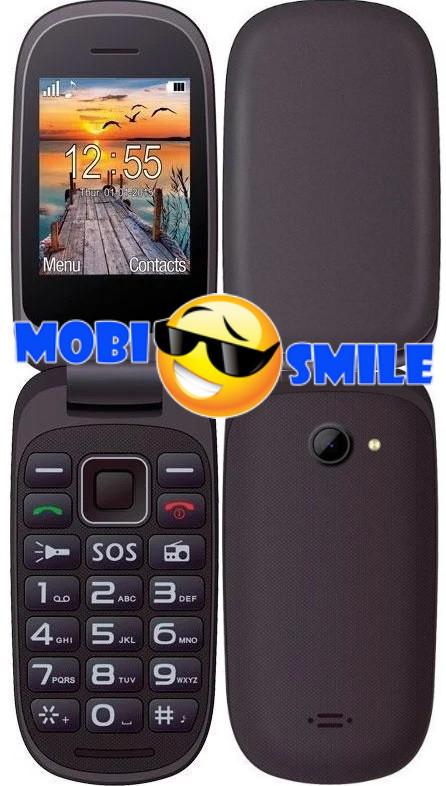 Мобильный телефон Maxcom MM818 Black Гарантия 12 месяцев