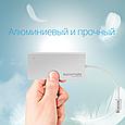 USB Type-C хаб Minihub-C4 Silver (Распакован), фото 4
